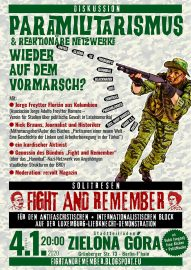 Diskussion & Solitresen: Fight and Remember!
